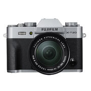Fujifilm X-T20 with 16-50mm XC Lens - Silver - 600018095