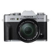 Fujifilm X-T20 with 16-50mm XC Lens - Silver - 600018095