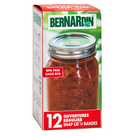 Bernardin Lids - Regular Mouth - 12's