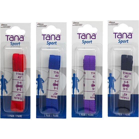 Tana Flat Laces - 45 inches - Assorted