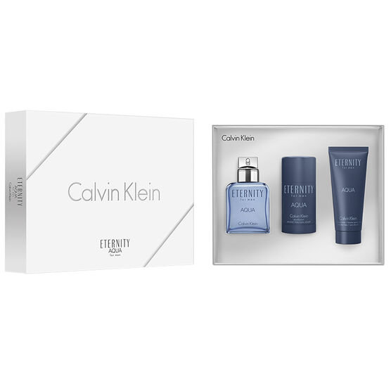 Calvin Klein Eternity Aqua for Men Set - 3 piece