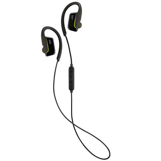 JVC Sport Wireless Earbuds - Black - HAEC30BTB