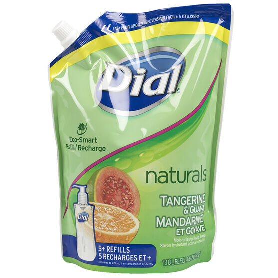 Dial Liquid Soap Refill - Tangerine & Guava - 1.18L