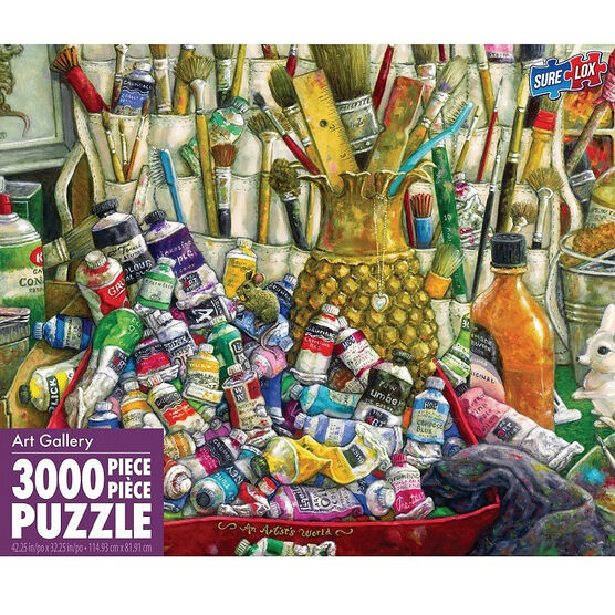 Colossus Puzzle - 3000 piece - Assorted