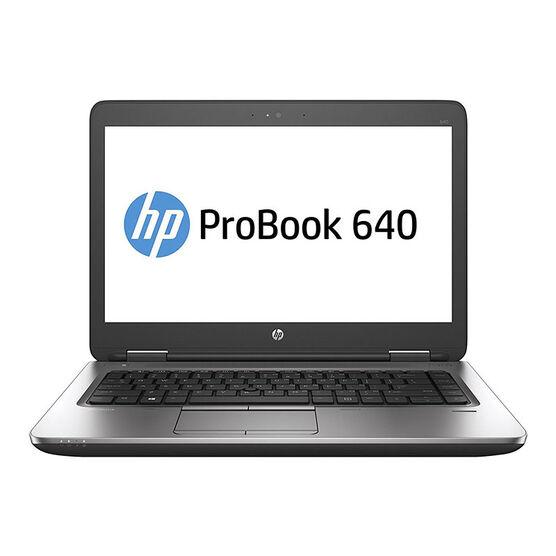 HP ProBook 640 G2  Business Laptop -  14 inch - V1P74UT#ABA