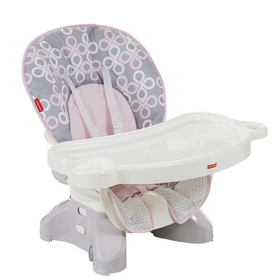 Fisher Price SpaceSaver High Chair - Strawberry Twist - DRF72