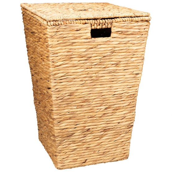 London Drugs Water Hyacinth Hamper with Lid - Large