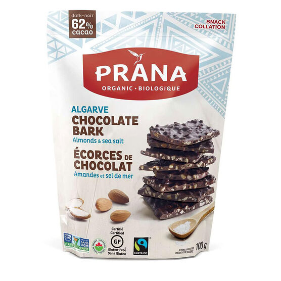 Prana Chocolate Bark - Algarve - 100g