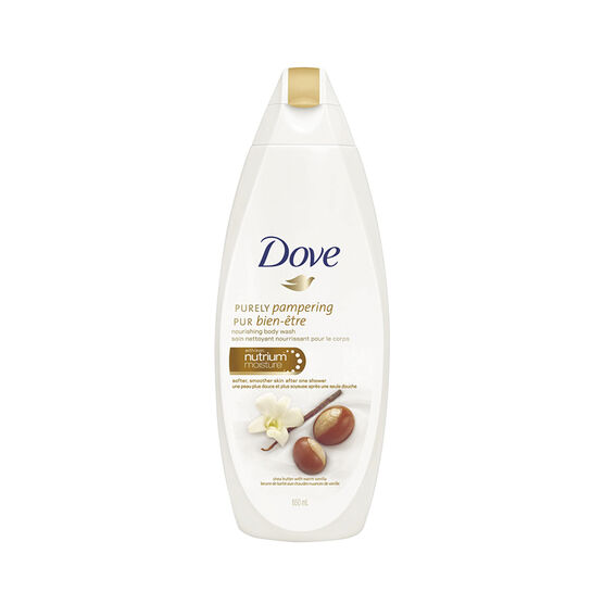 Dove Purely Pampering Body Wash - Shea Butter with Warm Vanilla - 650ml