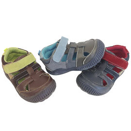 Outbaks Leather and Suede Sandals - Boys - Assorted