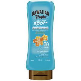 Hawaiian Tropic Island Sport Sunscreen Lotion - SPF30 - 240ml