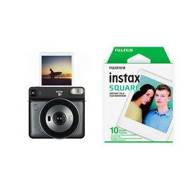 Fujifilm Instax SQUARE SQ6 with Bonus Square Film Pack - Graphite - PKG #56014
