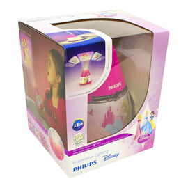 Disney Princess 2-in-1 Nightlight - Pink