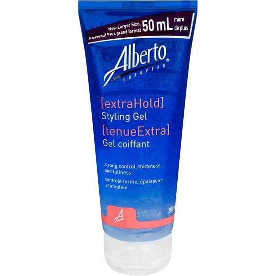 Alberto European Extra Hold Styling Gel - 200ml