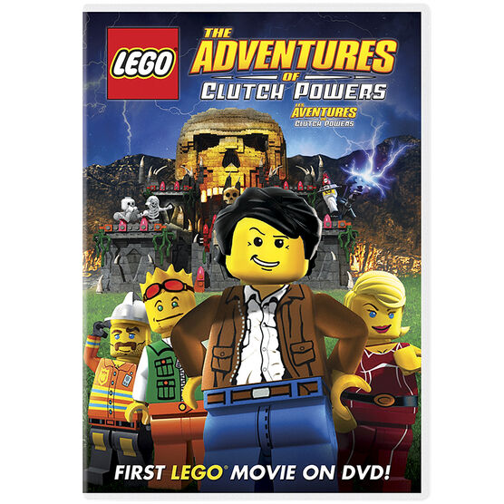 Lego The Adventures Of Clutch Powers - DVD
