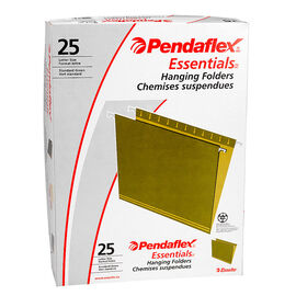 Pendaflex Hanging File Folders - Green - 25 Pack