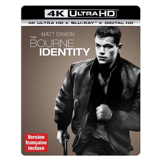 The Bourne Identity - 4K UHD Blu-ray