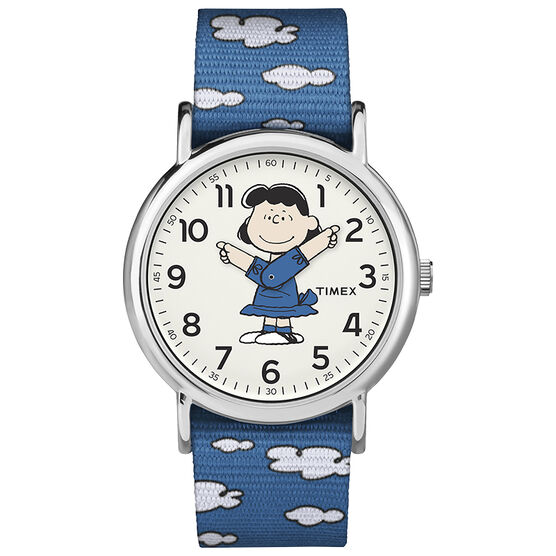 Timex x Peanuts Weekender Watch - Lucy - TW2R41300JT