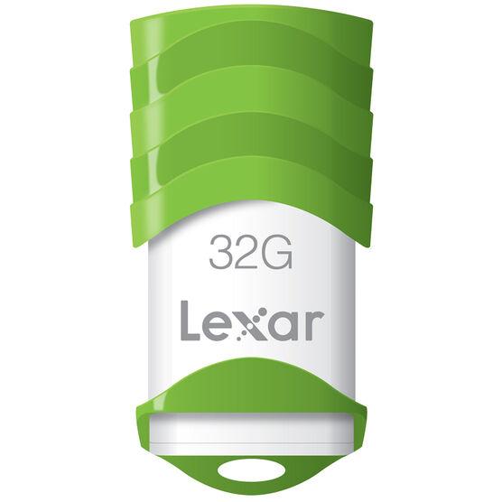 Lexar JumpDrive V30 USB 2.0 Flash Drive - 32GB - LJDV30-32GBABNL