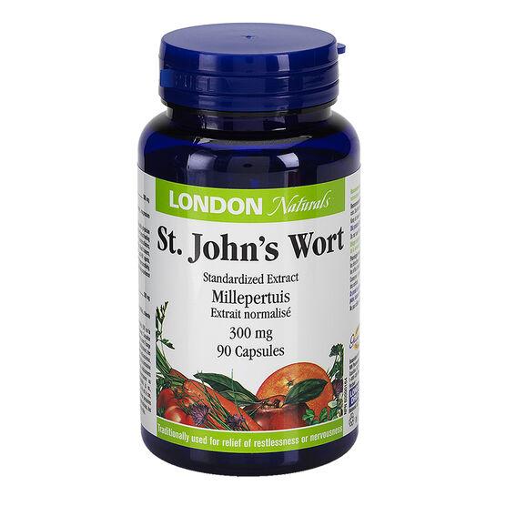 London Naturals St John's Wort Extract - 90's
