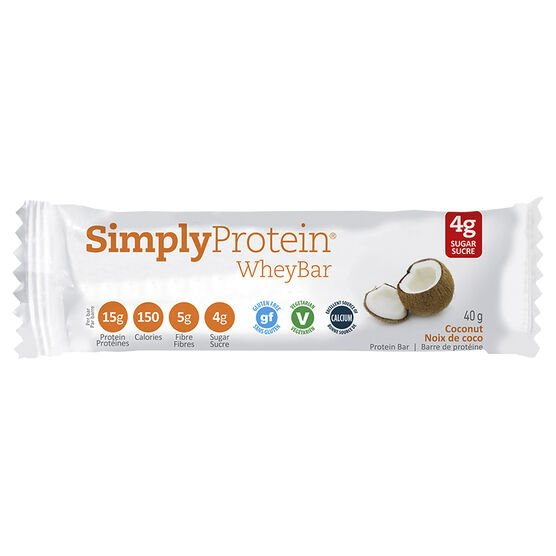 SimplyProtein Whey Bar - Coconut - 40g