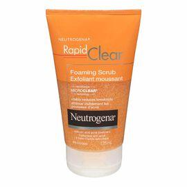 Neutrogena Rapid Clear Foaming Scrub - 125ml