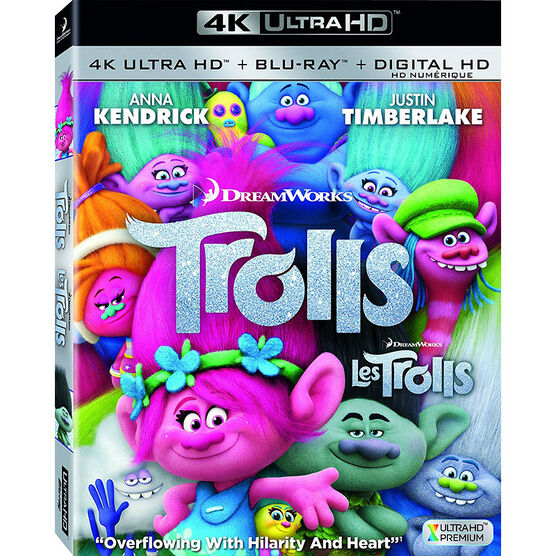 Trolls - 4K UHD Blu-ray