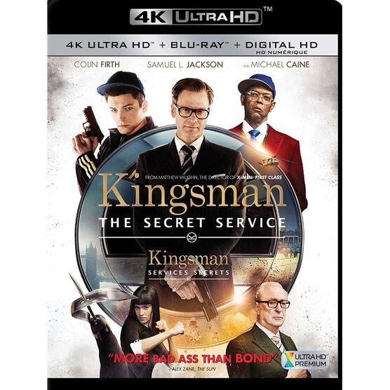 Kingsman: The Secret Service - 4K UHD Blu-ray