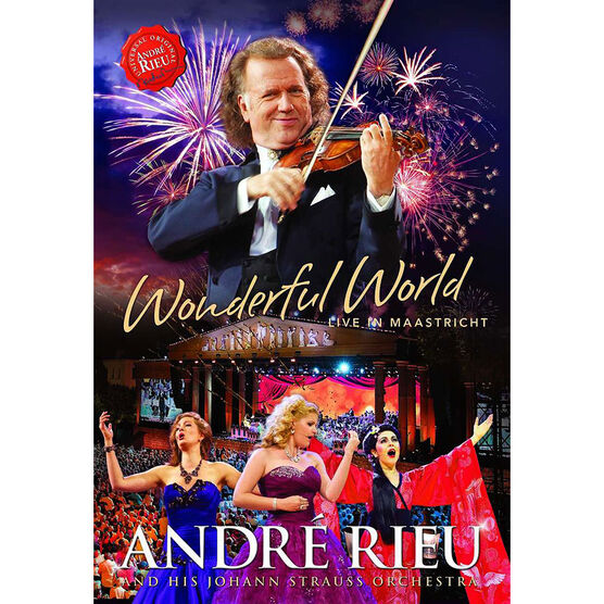 Andre Rieu - Wonderful World - DVD