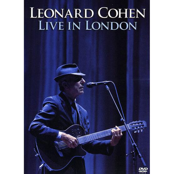 Leonard Cohen: Live in London - DVD