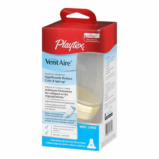 Playtex VentAire Advance Bottle - Wide - 177ml
