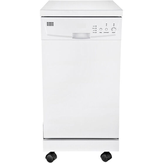 RCA Portable 18in Dishwasher - White - RDW1809