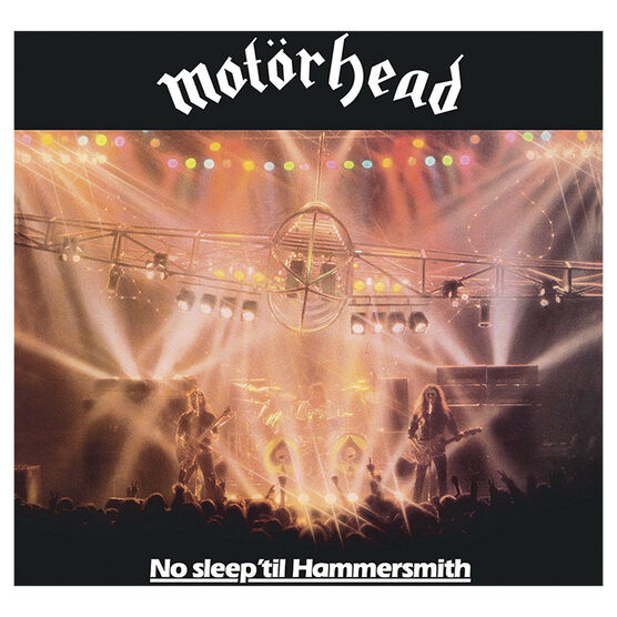 Motorhead - No Sleep 'til Hammersmith - Vinyl
