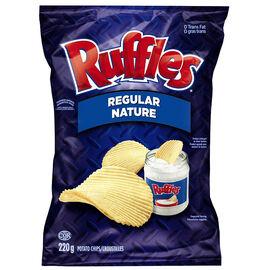 Ruffles Potato Chips - Regular - 220g