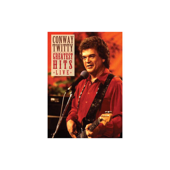 Conway Twitty: Greatest Hits Live - DVD