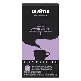 Lavazza Nespresso© Pods - Lungo Avvolgente 5 - 10 Pack