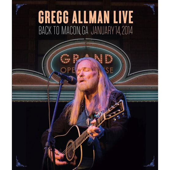 Gregg Allman - Back To Macon, GA - DVD