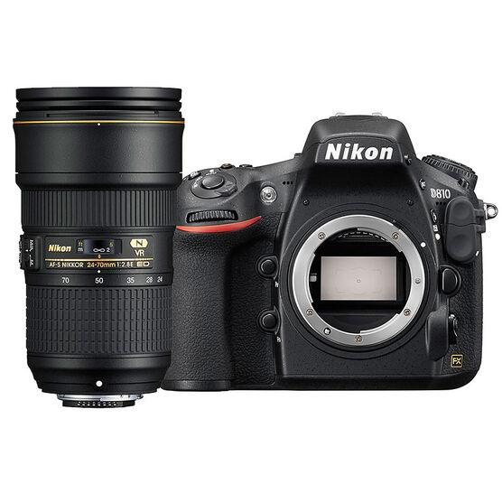 Nikon D810 FX Body with 24-70mm VR Lens