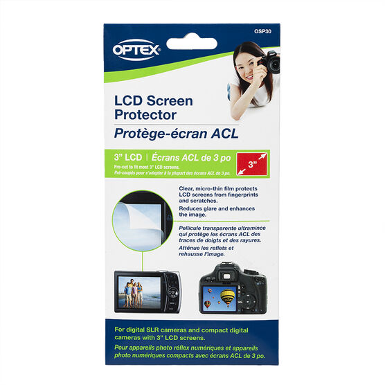 Optex 3.0-inch LCD Screen Protector - OSP30