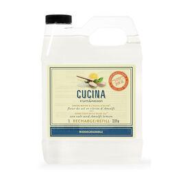Fruits & Passion Cucina Hand Soap Refill - Sea Salt and Amalfi Lemon - 1L
