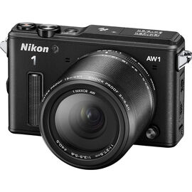 Nikon 1 AW1 with 11-27.5mm Lens - Black - 34102 - Open Box Display Model
