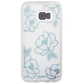 Sonix Clear Coat Case for Galaxy S7 - Florette/Blue - SX2452240156