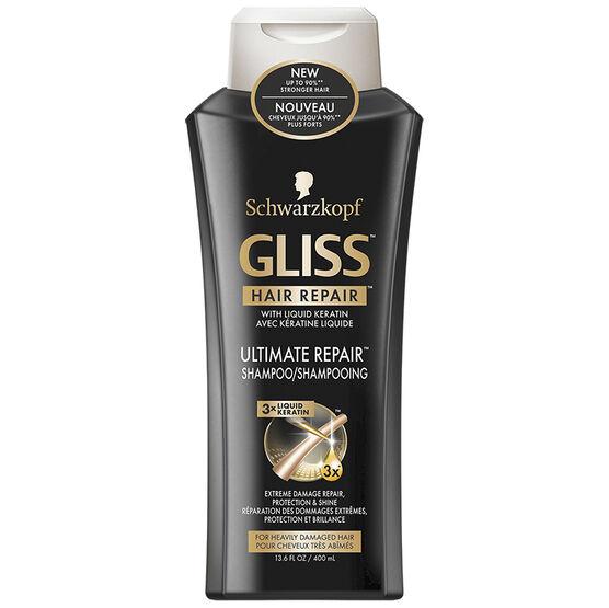 Schwarzkopf Gliss Hair Repair Shampoo - Ultimate Repair - 400ml