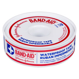 Johnson & Johnson Band-Aid Waterproof Tape - 1.2cm x 9m