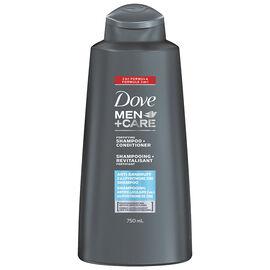 Dove Men+Care Anti-Dandruff Shampoo & Conditioner - 750ml
