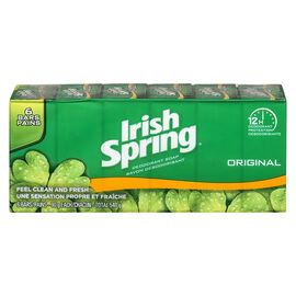 Irish Spring Soap - Original - 6 x 90g