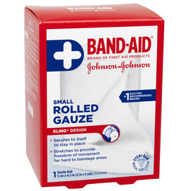 Johnson & Johnson Rolled Gauze - 2inch x 5yards