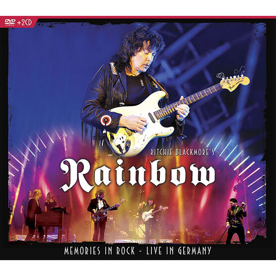 Ritchie Blackmore's Rainbow - Memories In Rock: Live in Germany - DVD