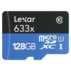 Lexar High-Performance 633x MicroSD Card - 128GB - LSDMI128BBNL633A