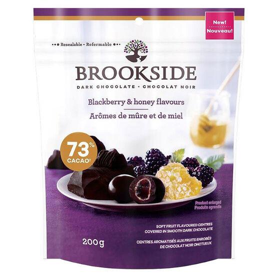 Brookside Dark Chocolate - Blackberry & Honey Flavours - 200g